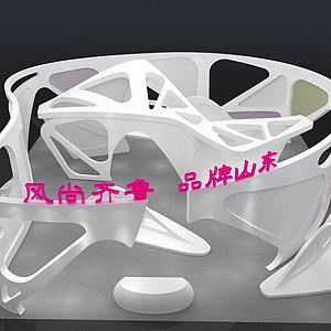 展示廳模型