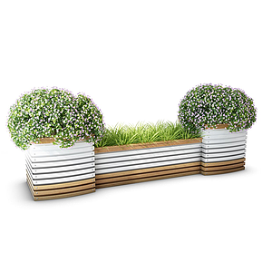 園林景觀模型