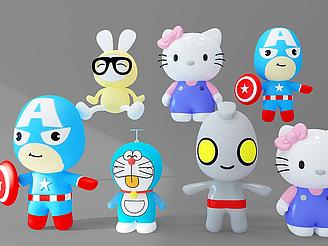玩具組合模型