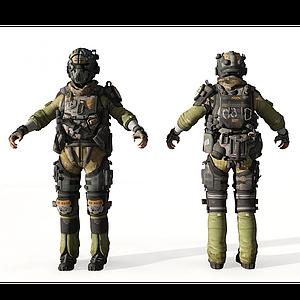 3d人物模型