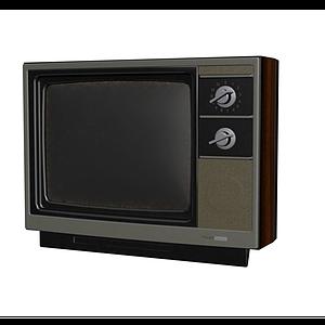電視機模型