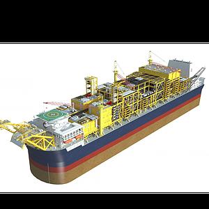 石油船舶模型