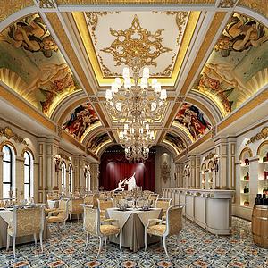3d俄罗斯<font class='myIsRed'>餐厅</font>模型