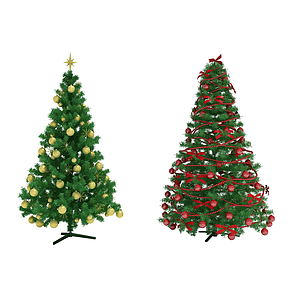 圣誕樹模型