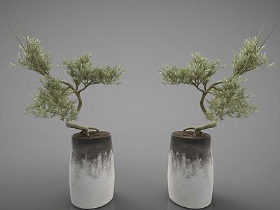 3d裝飾花瓶模型