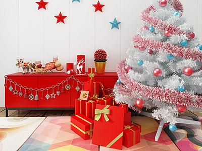 圣誕樹模型3d模型