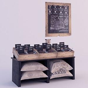 商店物品陳設模型