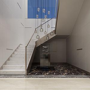 走廊樓梯間模型