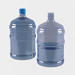 現代礦泉水桶模型