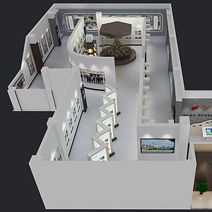 校史館模型
