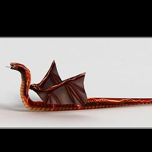 洪荒游戲炎蛇模型