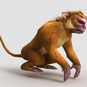 洪荒游戲裂金猿模型