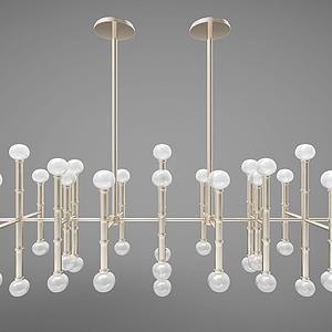 現代風格燈具模型