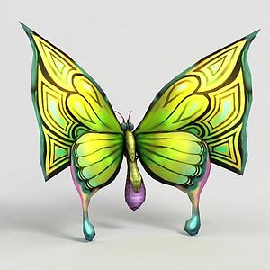洪荒游戲蝴蝶模型