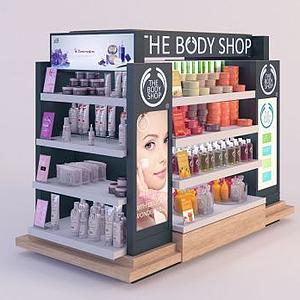 美容產品模型