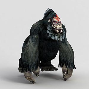 游戲魔化猩猩模型