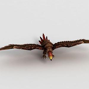 洪荒游戲禿鷲模型