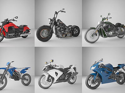 3d摩托車電動車交通<font class='myIsRed'>工具</font>模型