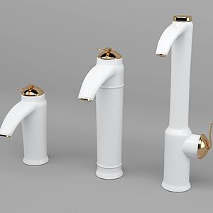 現代五金水龍頭模型