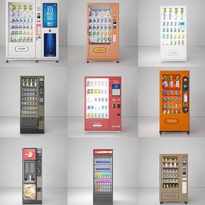 3d自动售货机模型