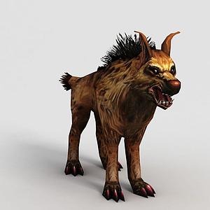 洪荒游戲野狗模型