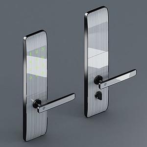 智能指紋門鎖模型