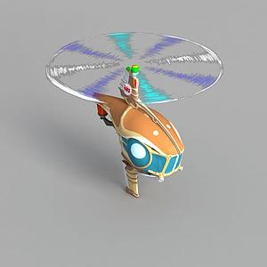 動漫直升機模型