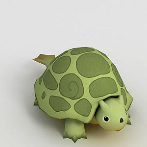 3d<font class='myIsRed'>动漫</font>小乌龟模型