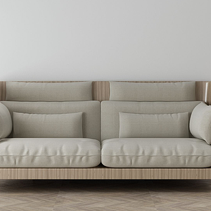 家具飾品組合休閑沙發模型