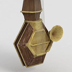 3d游戏乐器模型