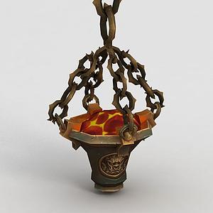 魔獸世界火爐模型
