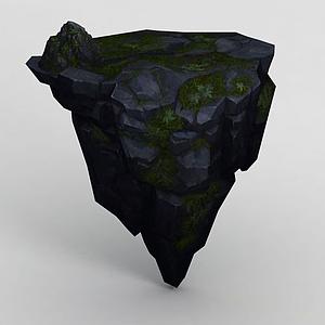 3d手绘写实<font class='myIsRed'>石头</font>模型