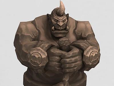 3d魔獸世界人物模型