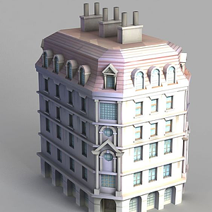 3d<font class='myIsRed'>动漫</font>城堡建筑模型