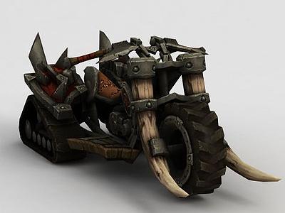 3d魔獸世界摩托<font class='myIsRed'>車</font>模型