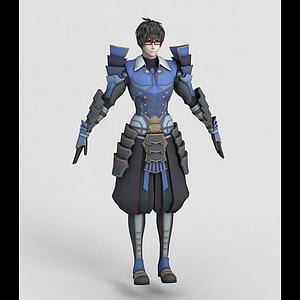 3d<font class='myIsRed'>动漫</font>男生角色模型