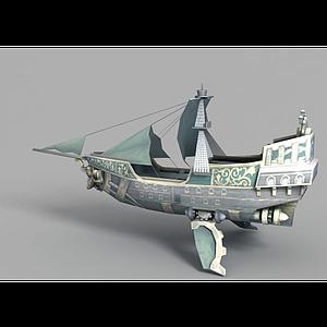 3d<font class='myIsRed'>动漫</font>帆船模型