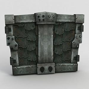 魔獸世界石門模型