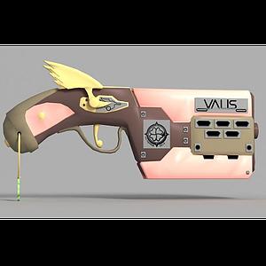 3d<font class='myIsRed'>动漫</font>手枪模型