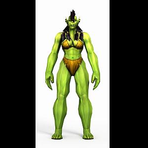 wow魔獸世界角色模型