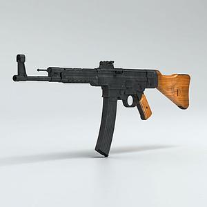 3d突击步枪模型