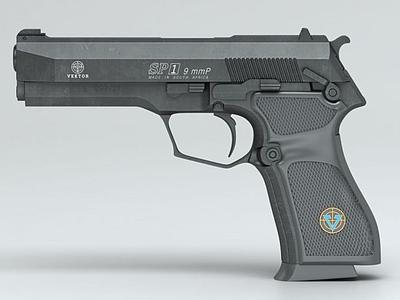 維克托SP(VEKTORSP)手槍3d模型