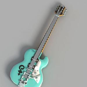 游戲吉他飾品裝飾模型