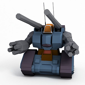 3d量產型鋼<font class='myIsRed'>坦克</font>模型