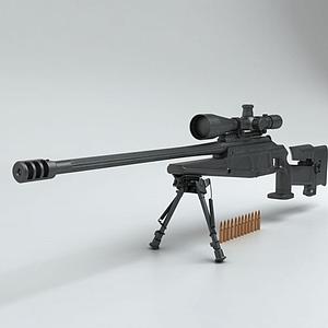 3d吃鸡战场狙击枪模型