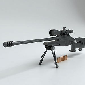 3d吃雞戰場狙擊<font class='myIsRed'>槍</font>模型