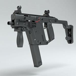 3dVECTOR冲锋枪模型