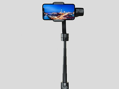 3d手機自拍桿模型