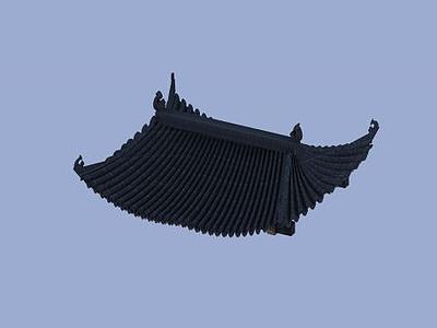 3d屋檐模型