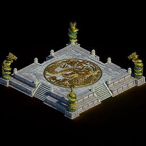 皇宮校場模型